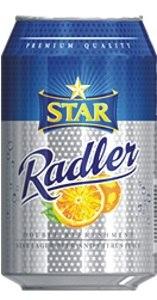 Star Radler Lager Beer & Citrus Juice Can 33 cl x12