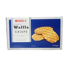 Buy Spar Finest Waffle Crisps 250 G In Nigeria Biscuits
