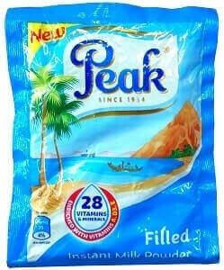Peak Instant Filled Milk Powder 14 g