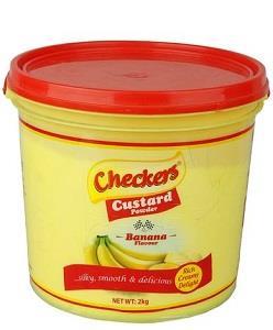 Checkers Custard Powder Banana 2 kg
