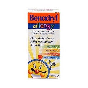 Buy Benadryl Allergy Children Syrup 100 ml | Kids' Wellness