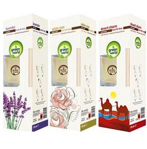 Green World Air Freshener Reed Diffuser Assorted 170 Ml Supermart Ng